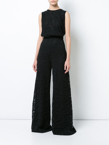 CORDED LACE PALAZZO PANT