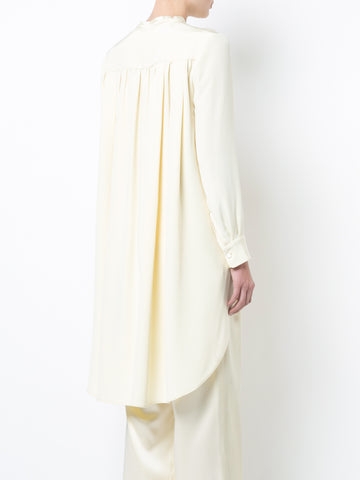 SILK CREPE HIGH LOW TUNIC