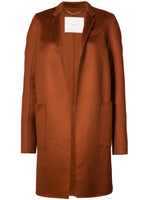 CAR COAT IN ZIBELLINE CASHMERE