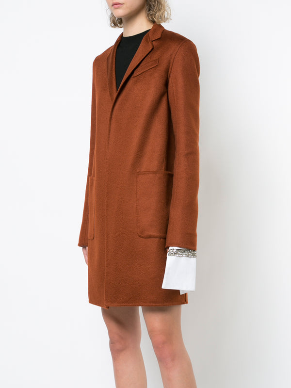 ZIBELLINE CASHMERE CAR COAT