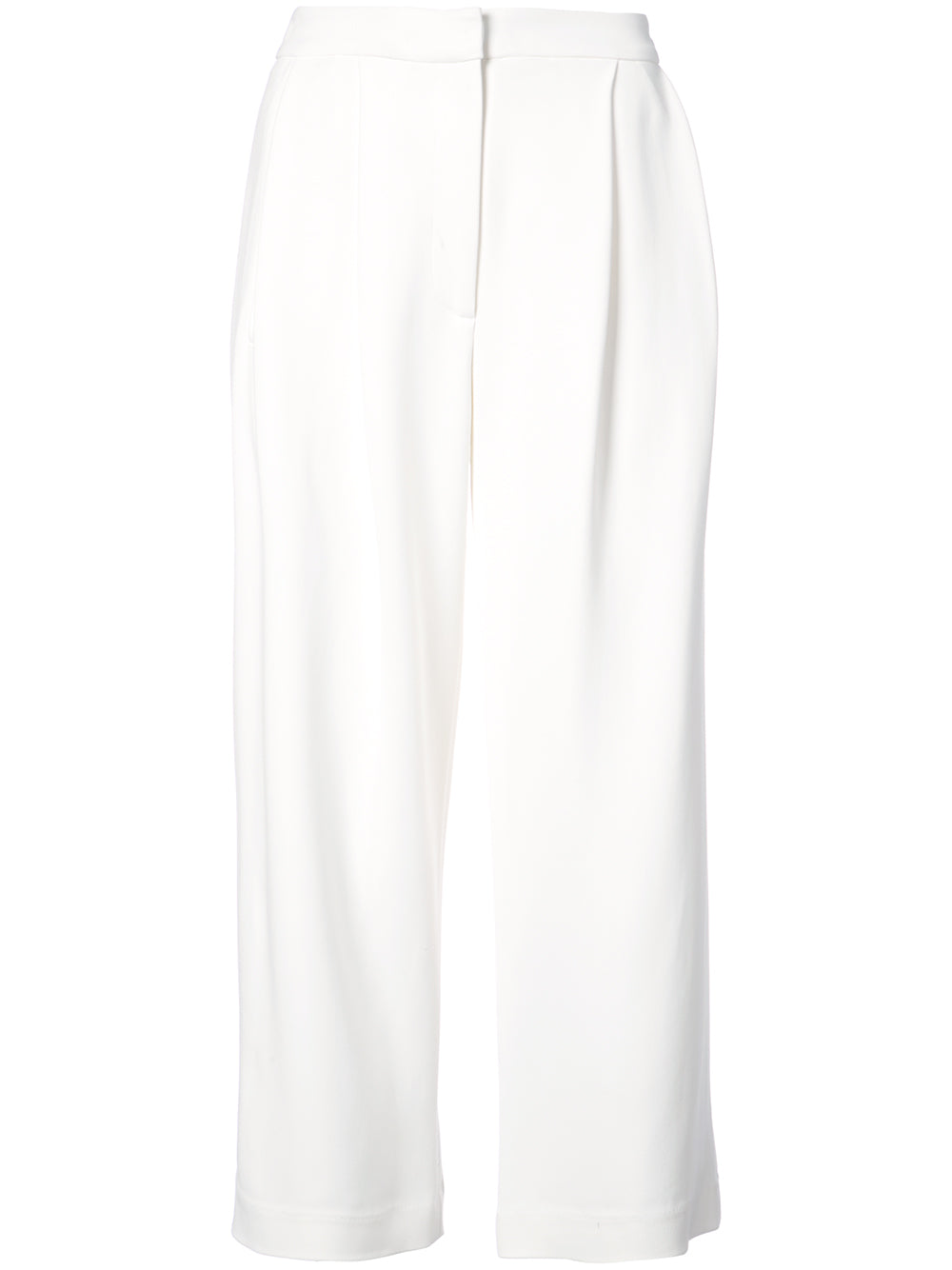 Stretch Cady Pleat Front Culotte