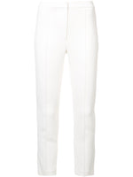 CIGARETTE PANT IN STRETCH CADY