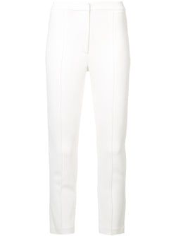 STRETCH CADY CIGARETTE PANT