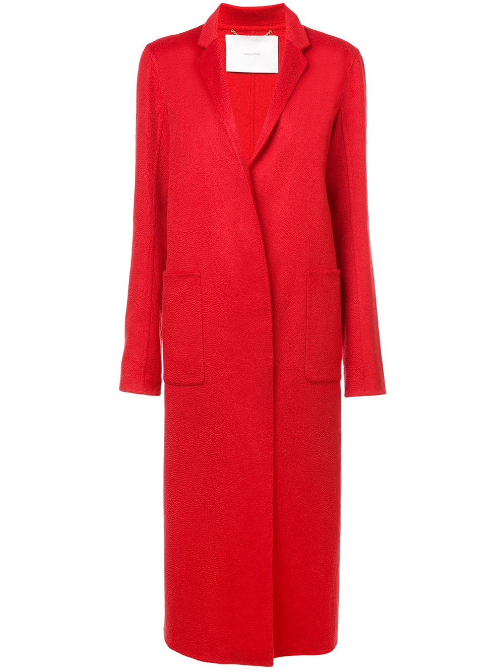ZIBELLINE CASHMERE COAT WITH POCKETS