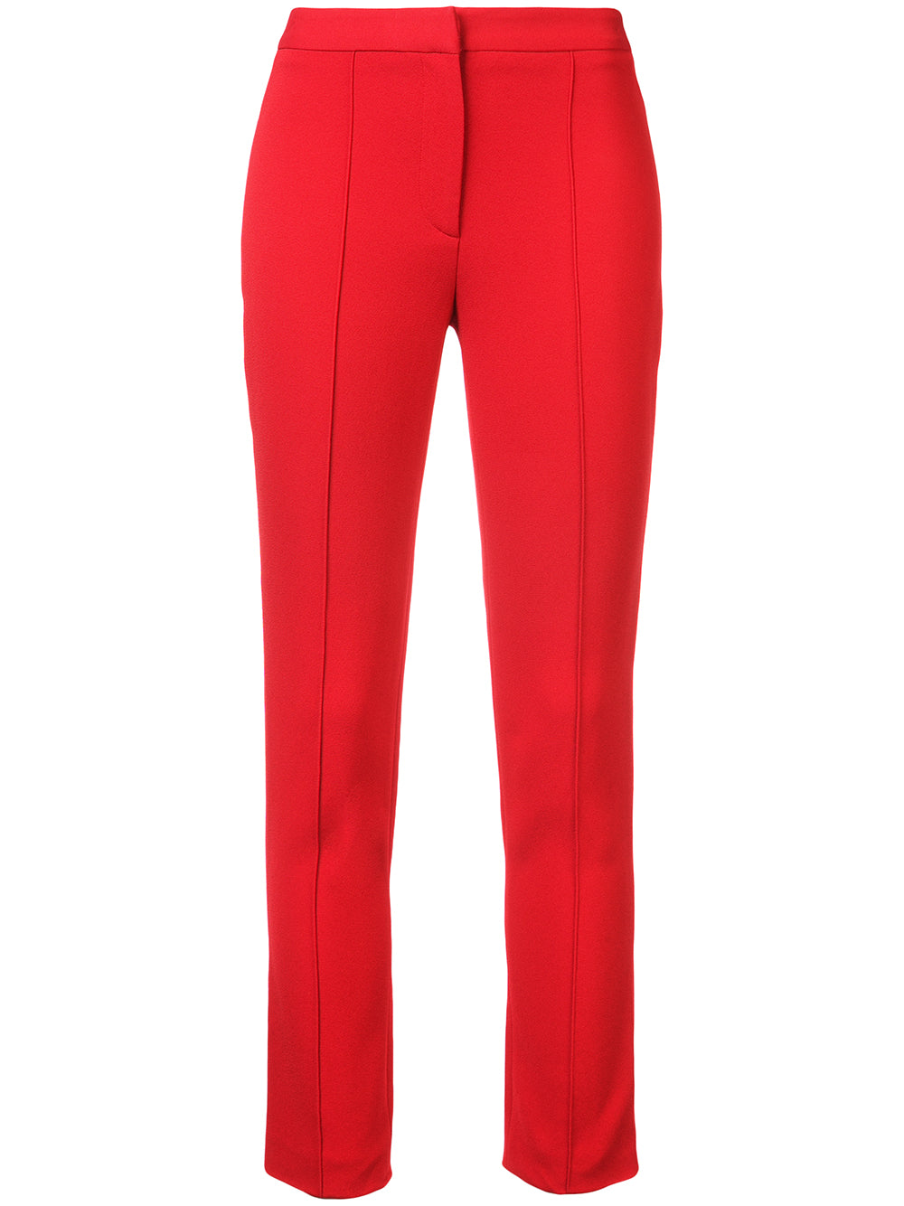 STRETCH CREPE CIGARETTE PANT WITH PINTUCK