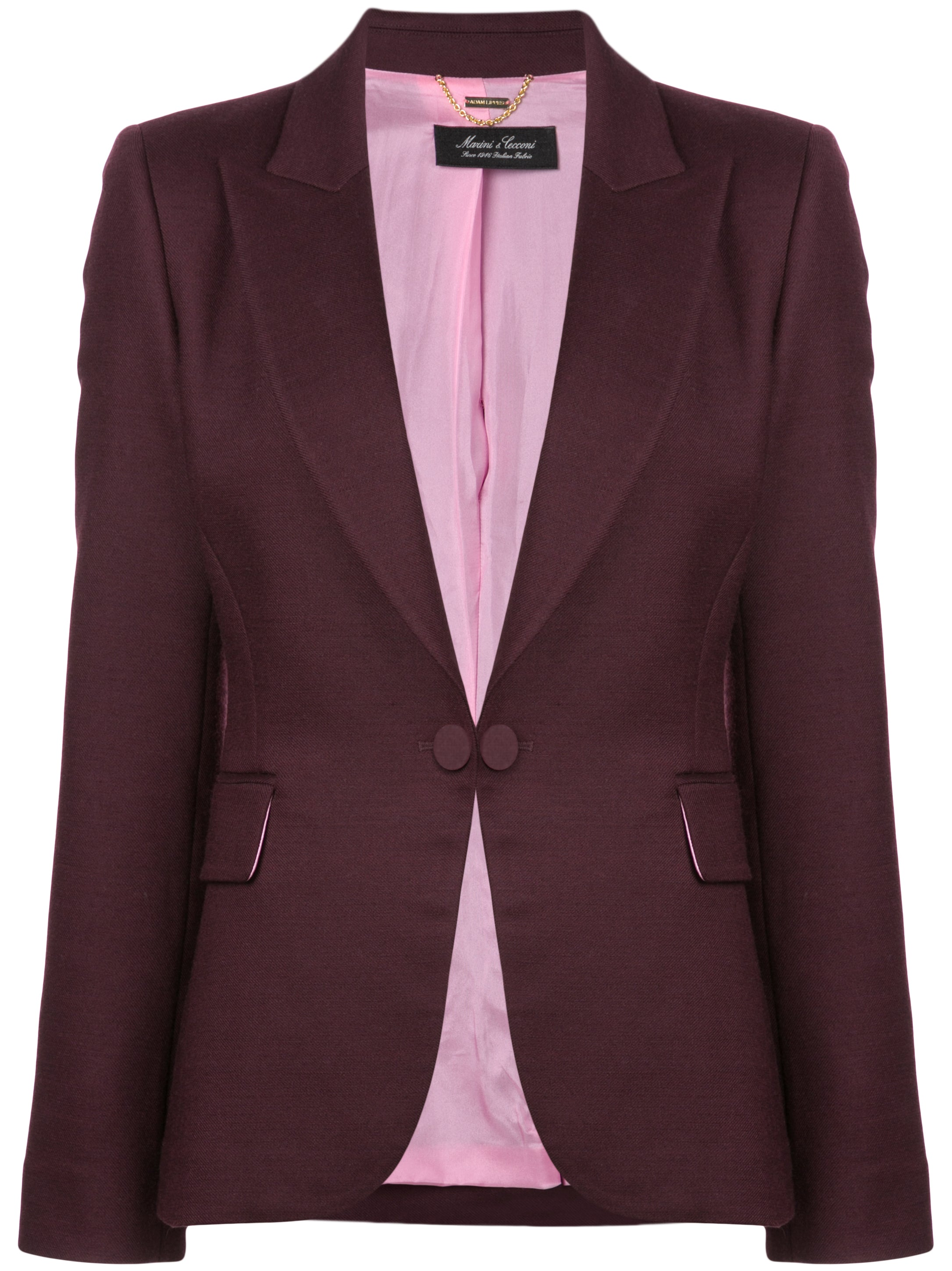 DOUBLE FACE WOOL BLAZER