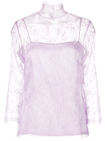CHANTILLY LACE 3/4 SLV TURTLENECK W CAMI