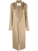 MENSWEAR COAT IN ZIBELLINE CASHMERE