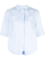 SAFARI SHIRT IN COTTON POPLIN