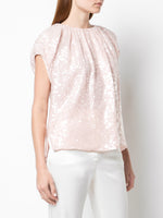 EMBROIDERED TOP IN SEQUIN