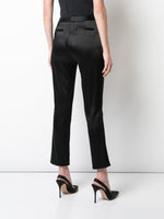 CIGARETTE PANT IN DOUBLE HAMMERED SATIN