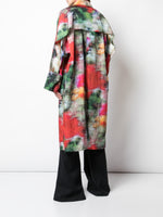 RAINCOAT IN PRINTED TAFFETA