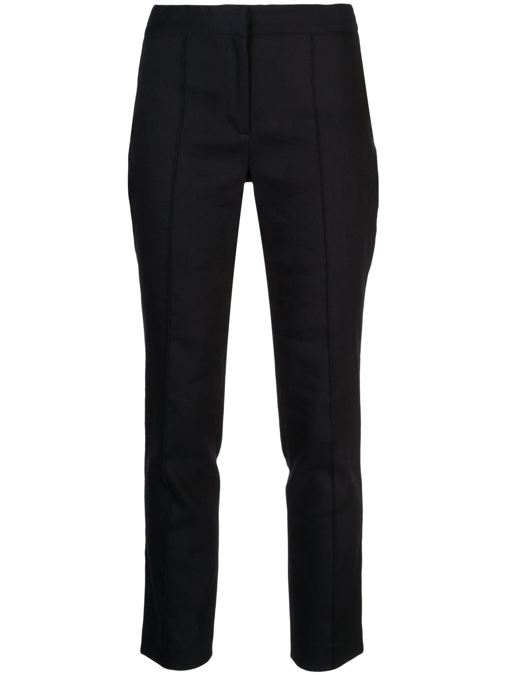 CIGARETTE PANT IN TEXTURED COTTON