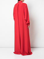 WIDE-LEG JUMPSUIT IN SILK CREPE