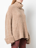 TEDDY BEAR TURTLENECK IN MERINO CASHMERE