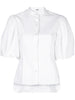 FITTED BLOUSE IN COTTON POPLIN