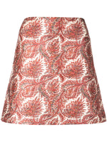MINI SKIRT IN JACQUARD