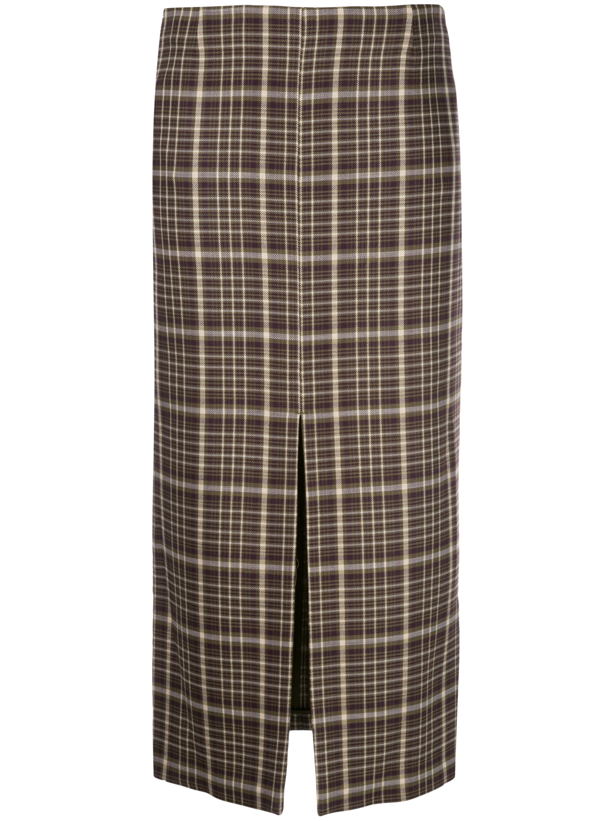 DOUBLE FACE WOOL PENCIL SKIRT