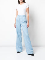 DOUBLE FACE WOOL TROUSER