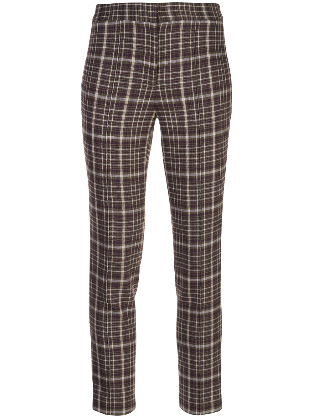 DOUBLE FACE WOOL CIGARETTE PANT