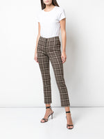 CIGARETTE PANT IN DOUBLE FACE WOOL