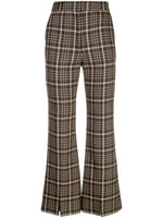 BELL CROP PANT IN DOUBLE FACE WOOL