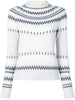 FAIRISLE CREWNECK SWEATER IN WOOL CASHMERE
