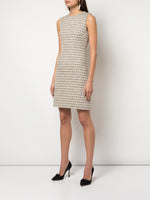 SHEATH DRESS IN TWEED