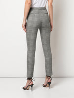 CIGARETTE PANT IN DOUBLE FACE PLAID WOOL
