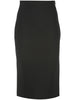 PENCIL SKIRT IN BONDED NEOPRENE