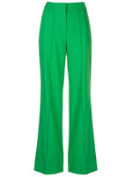 PINTUCK WIDE-LEG TROUSER IN TROPICAL WOOL