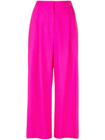 PLEAT FRONT CULOTTE IN TROPICAL WOOL