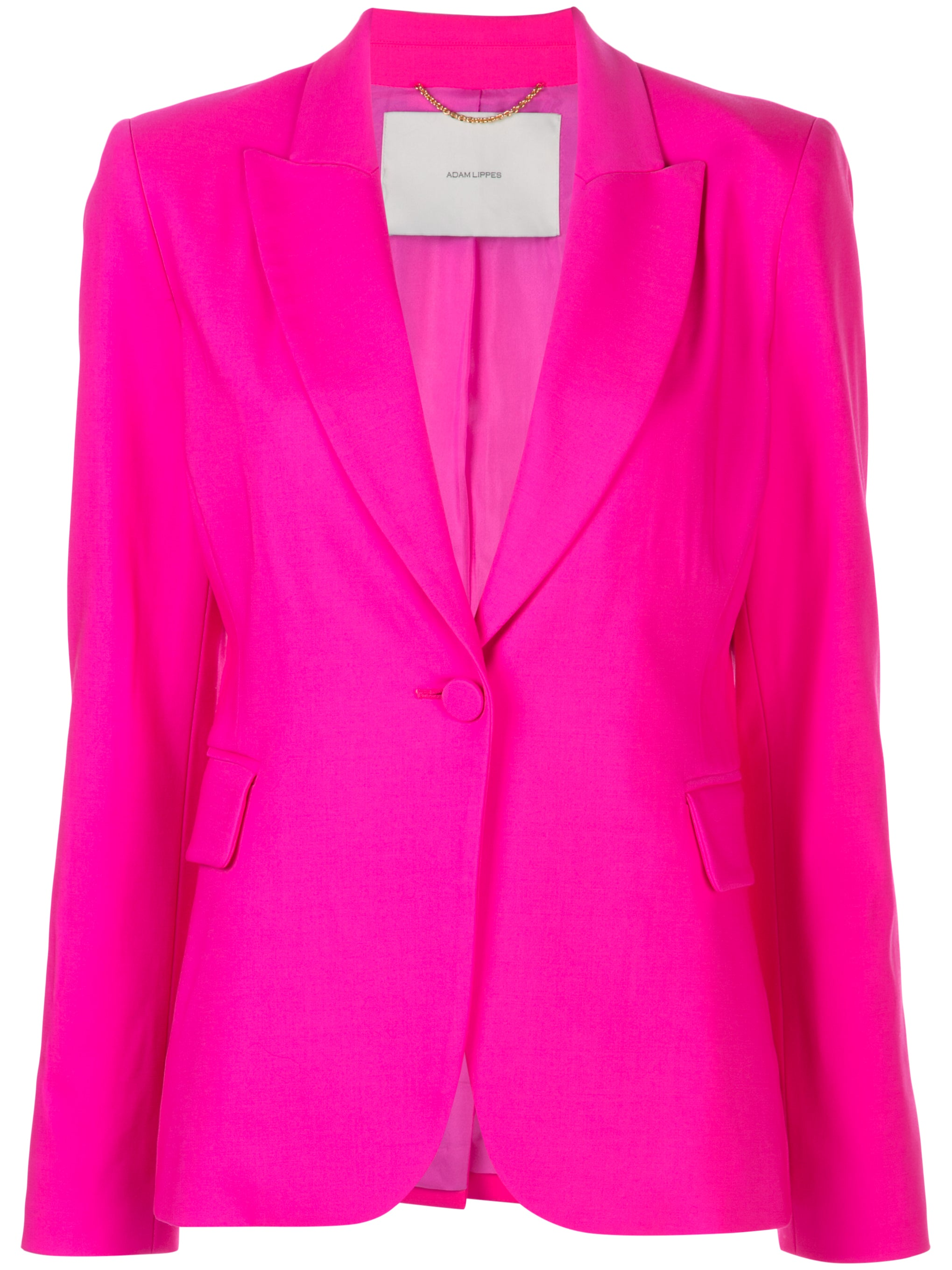 SINGLE BREASTED BLAZER IN TROPICAL WOOL