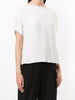 DOLMAN T-SHIRT IN SATIN BACK CREPE