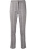 CIGARETTE PANT IN SUPER FINE HERRINGBONE WOOL