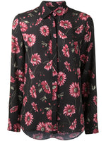 MENSWEAR SHIRT IN PRINTED GEORGETTE