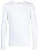 LONG SLEEVE CREWNECK T-SHIRT IN PIMA COTTON