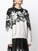 INTARSIA CREWNECK SWEATER IN COTTON