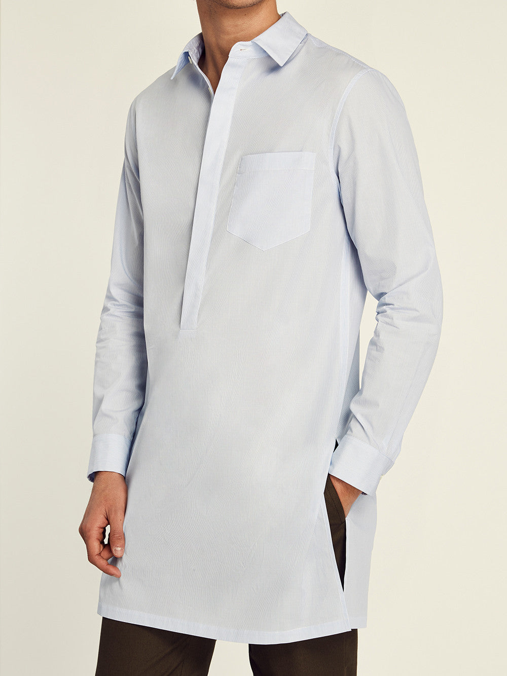 Cotton Long Sleeve Tunic