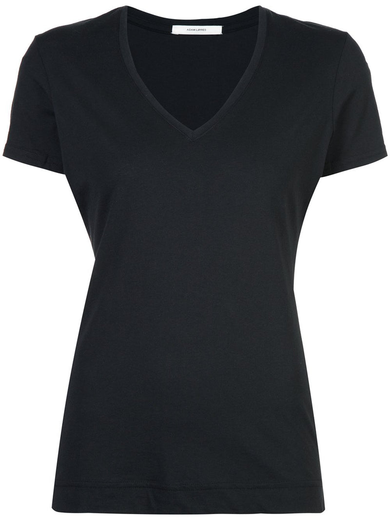 PIMA COTTON SHORT SLEEVE V-NECK T-SHIRT