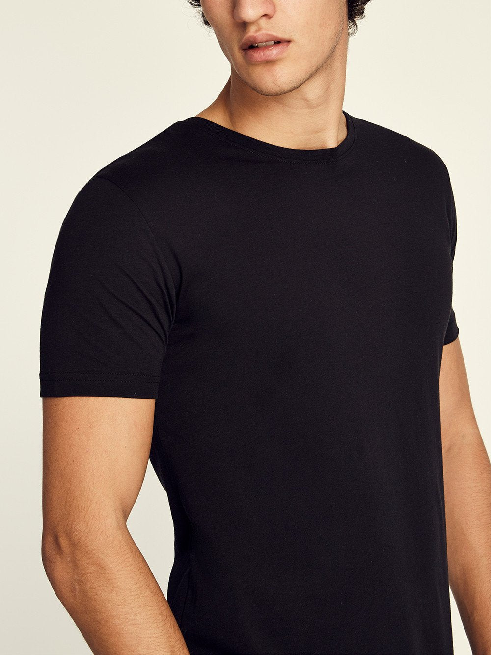 Pima Cotton Short Sleeve Crewneck T-shirt