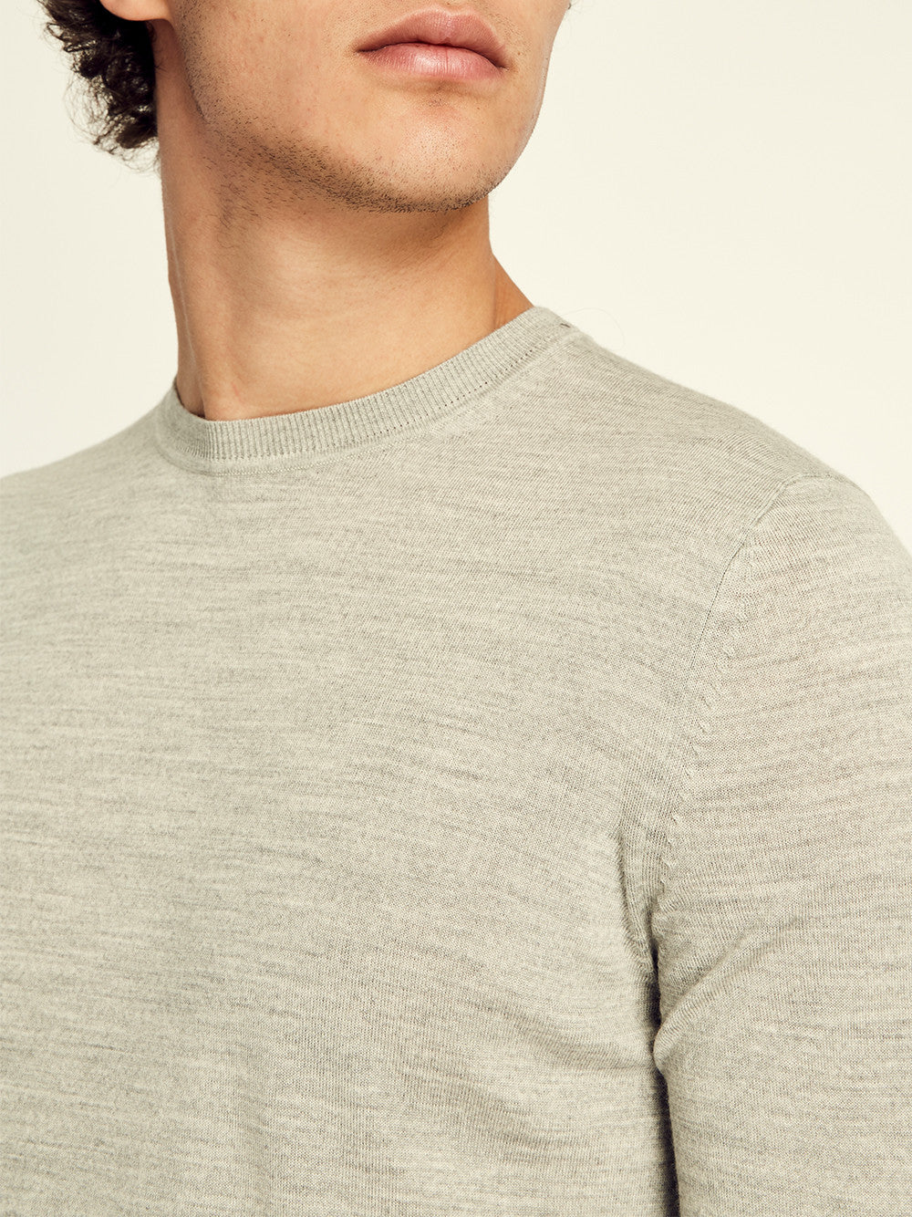 Merino Crewneck Sweater