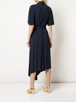 ASYMMETRICAL DRESS IN JERSEY