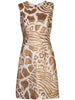 SHEATH DRESS IN JACQUARD