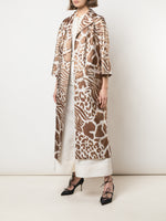 OPERA COAT IN JACQUARD