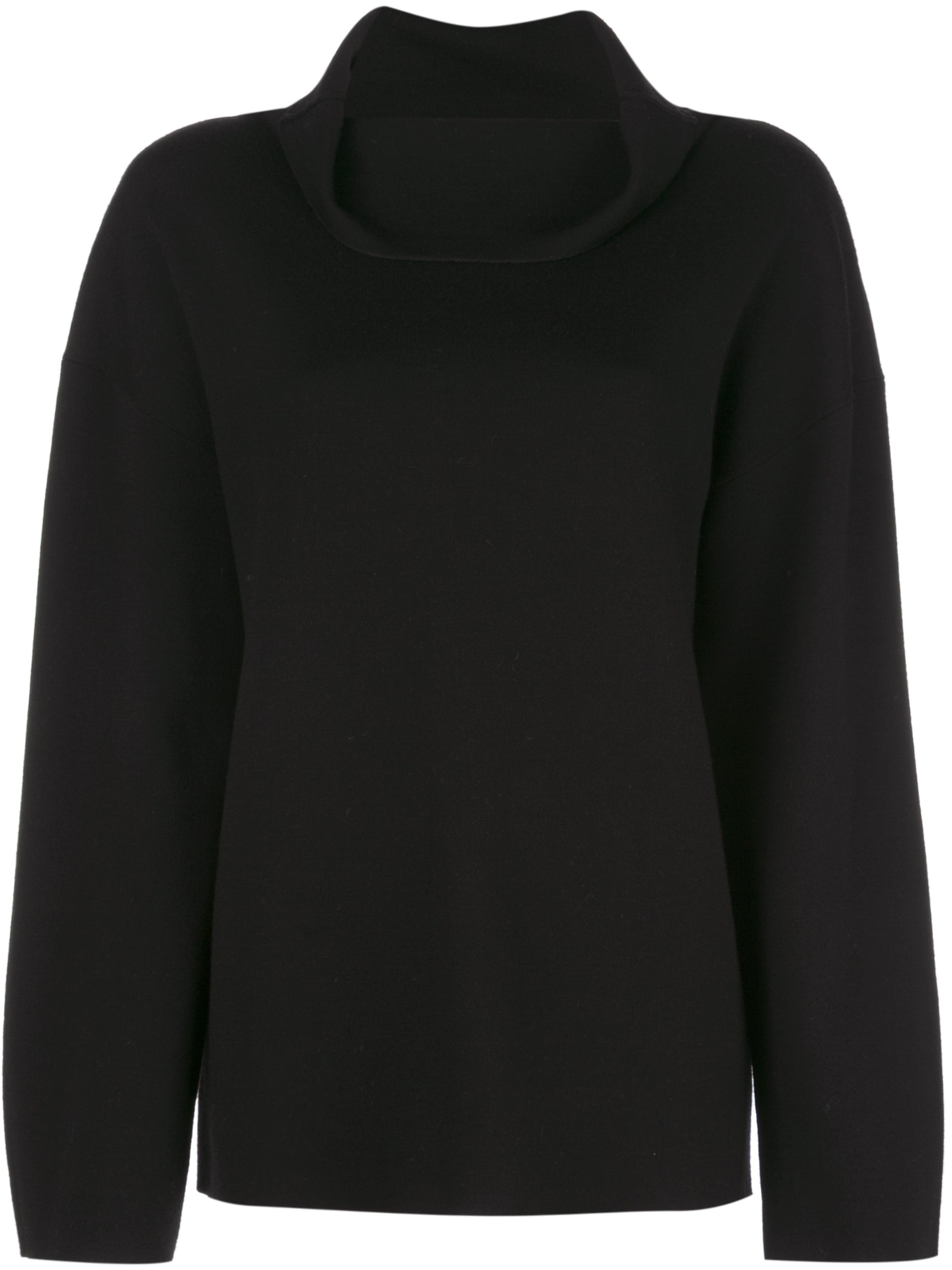 DOUBLE FACE MERINO WOOL TURTLENECK