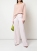 RELAXED WIDE-LEG TROUSER IN DOUBLE FACE STRETCH WOOL