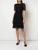 A-LINE DRESS WITH PATCH POCKETS IN CORDED LACE