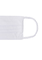 WHITE PIMA COTTON MASKS, SET OF 3
