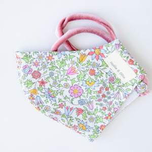 Multicoloured Floral Face Mask - Adult and Child options